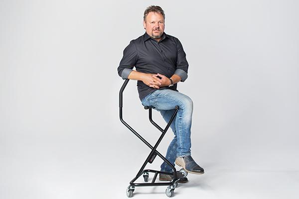 Thomas Pernet - Erfinder und ErgoSus® Gründer
