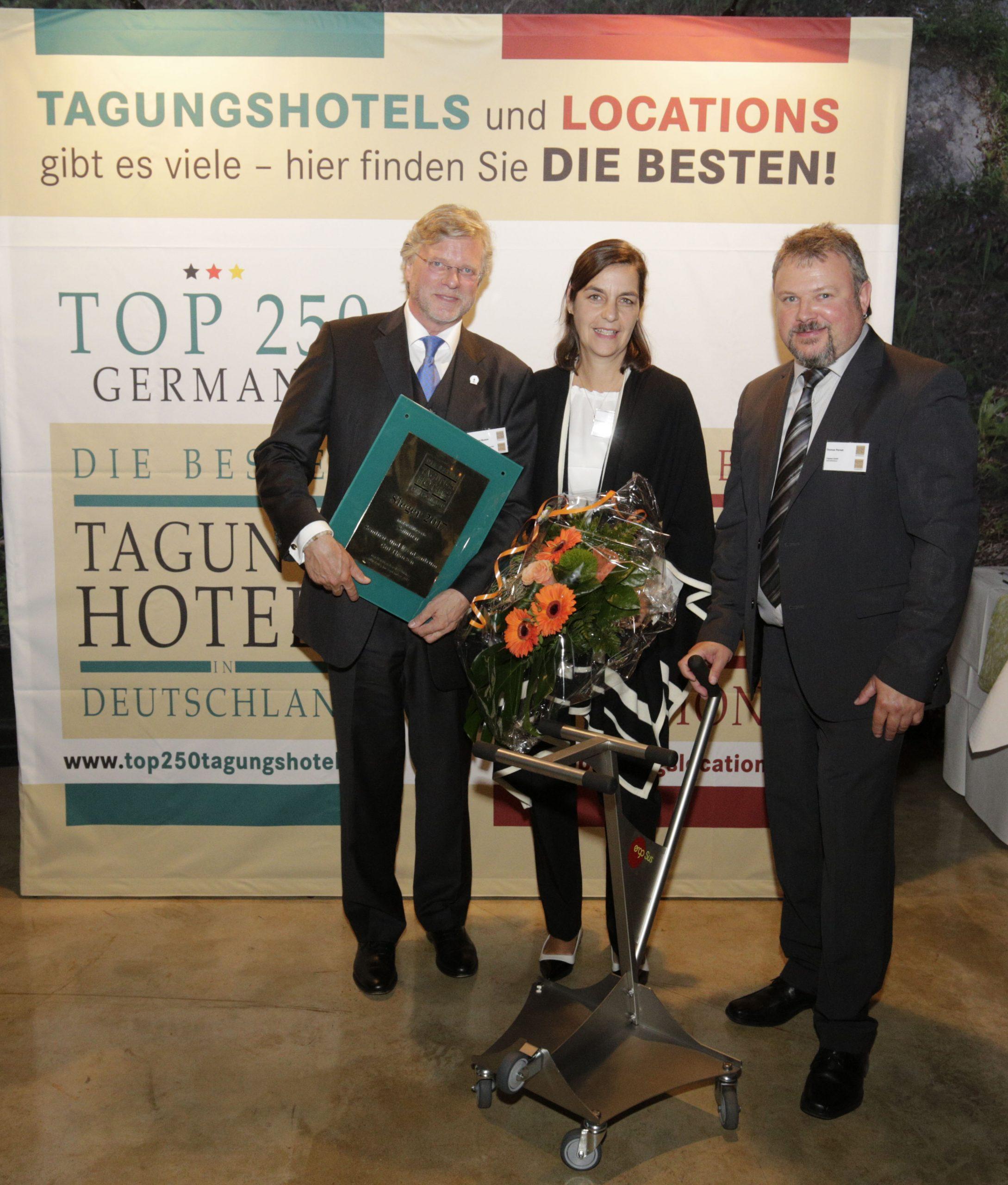 Preisverleihung und Gala der 250 Top Tagungshotels Deutschlands im Gasometer Pforzheim