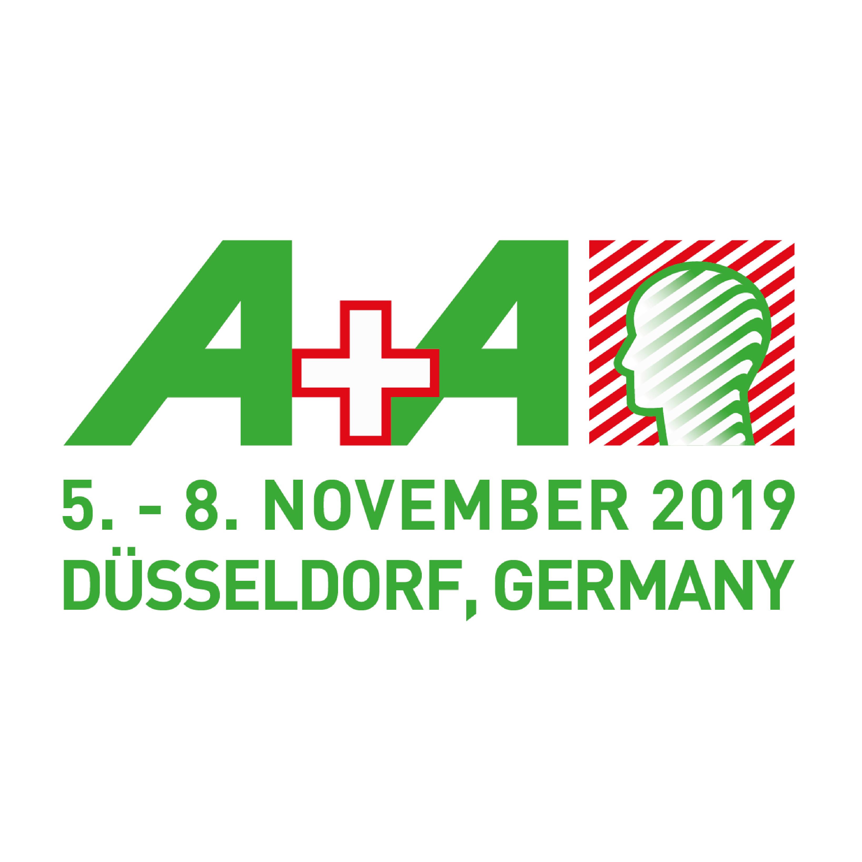 Wir sind Aussteller bei der A+A Messe 2019 in Düsseldorf