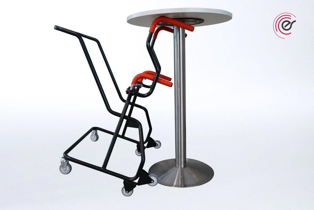 ErgoSus Stehtisch Adapter Stehtische Transportieren