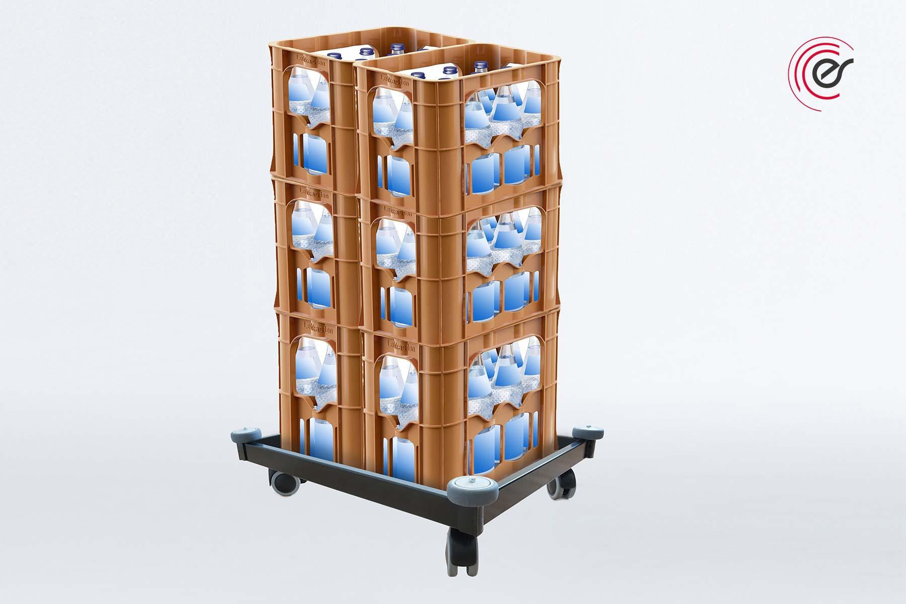 ErgoSusTROLLEY Kisten transportieren, stapeln und lagern