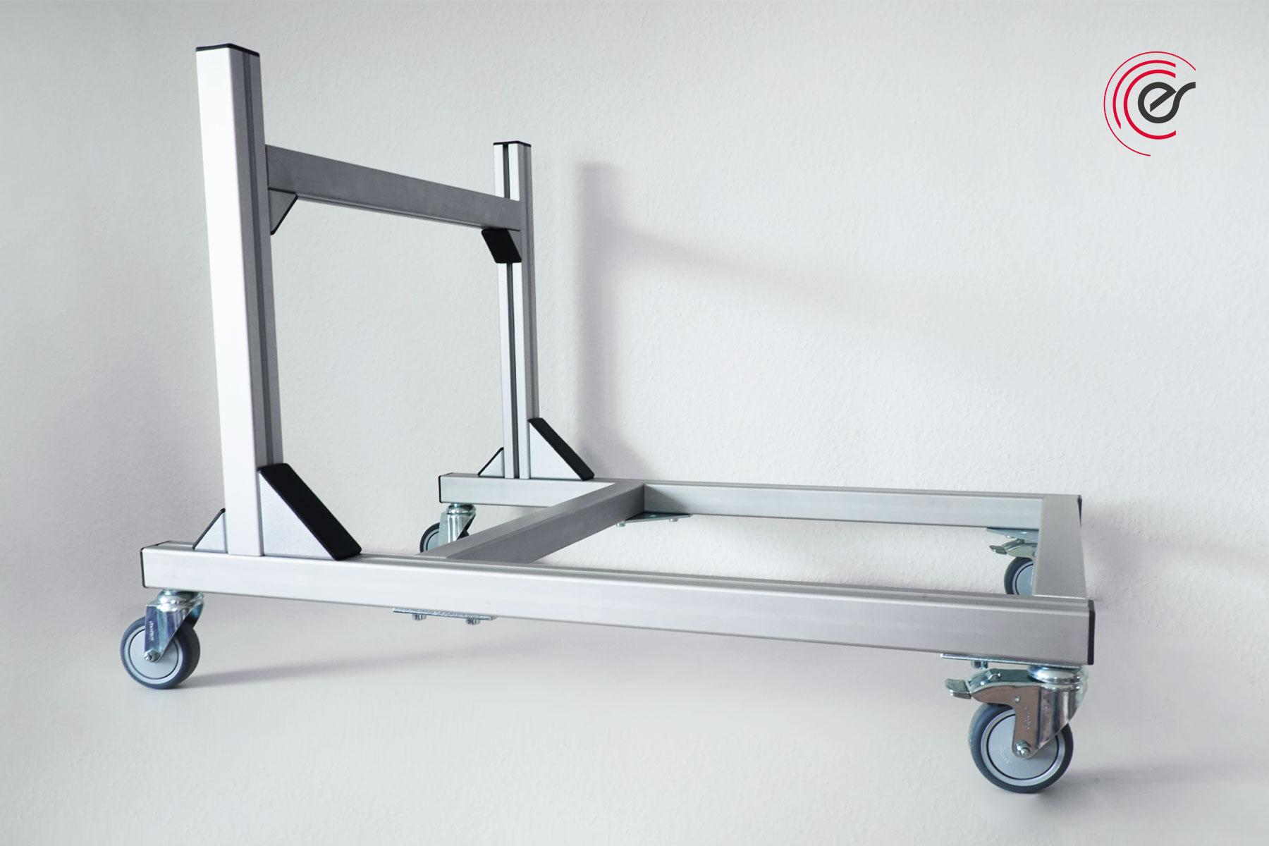 ErgoSusSTACK-XL Stuhltransportwagen seitlich