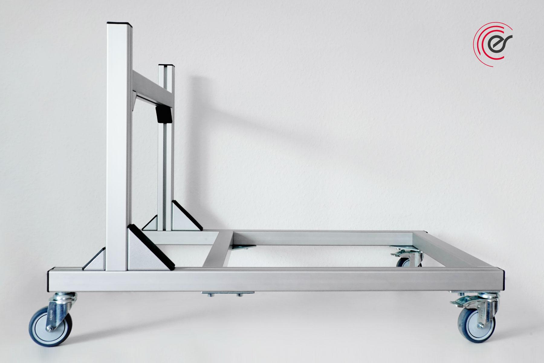 ErgoSusSTACK-XL Stuhltransportwagen ohne Stühle