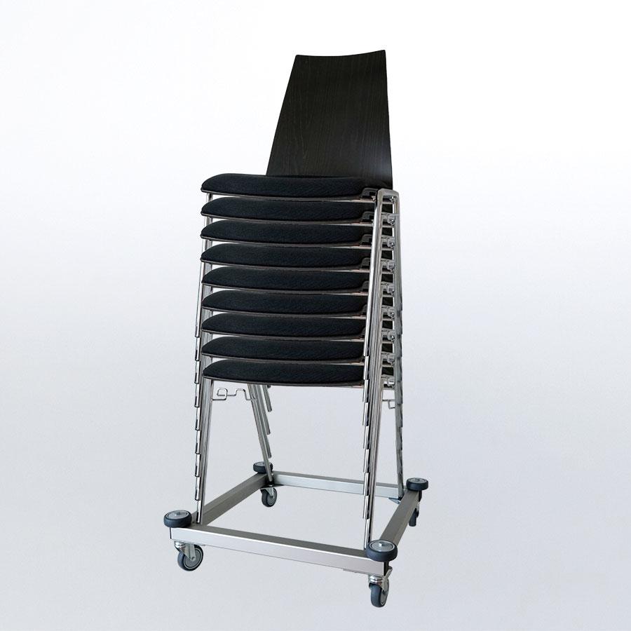 ErgoSusSTACK – Stühle transportieren und lagern