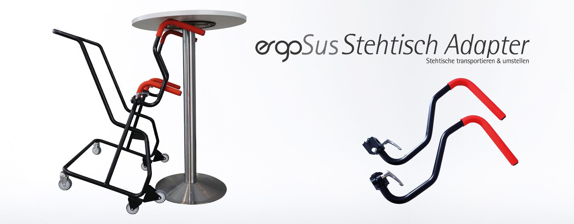ErgoSus Stehtisch Adapter